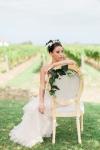Lasting Events- bride in vineyard
