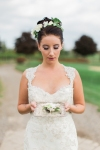 Lasting Events- bride holding boutoniere