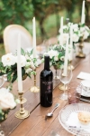 Lasting Events- Rockway Vineyard Wine on harvest tablescape