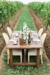 Lasting Events- Harvest table wedding in vineyard