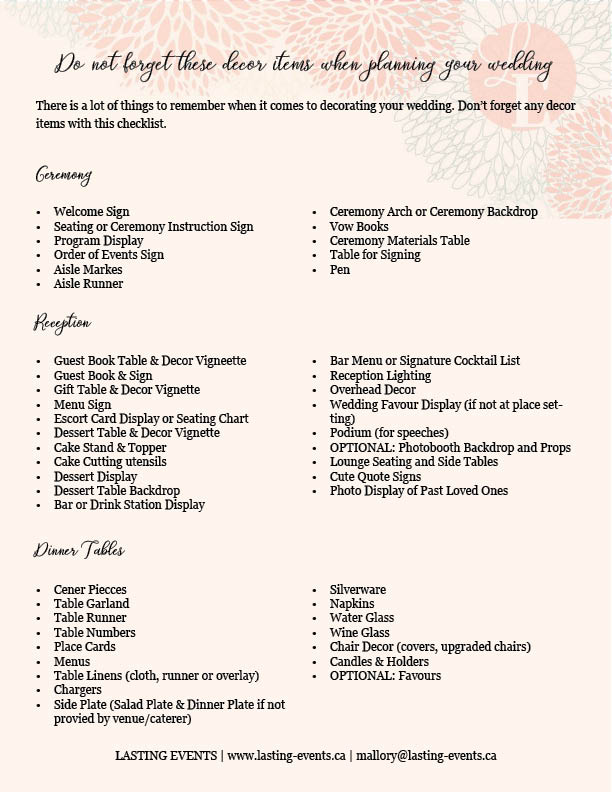 Its all in the details decor tips to help pull your look together decor check list junglespirit Gallery