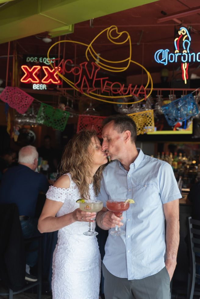 Lasting Events-bride and groom at Taco & Tequila Niagara Falls