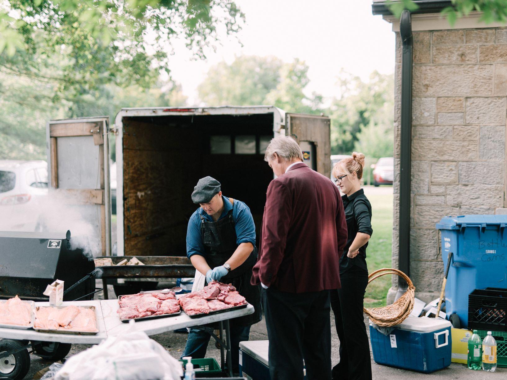 Your Farm Gate cooking for Niagara wedding