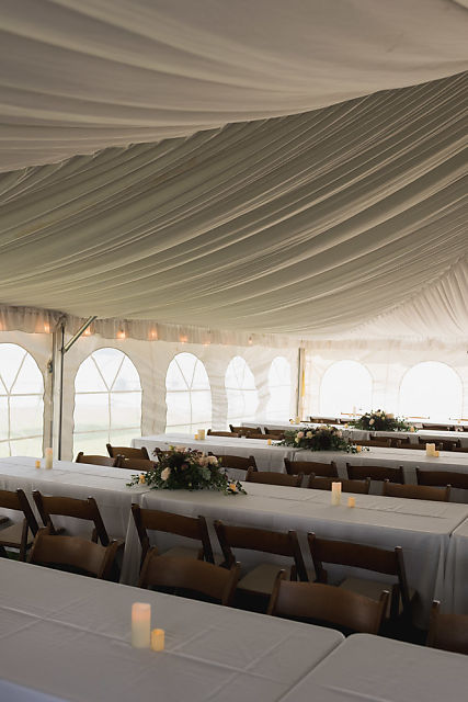Niagara tented wedding