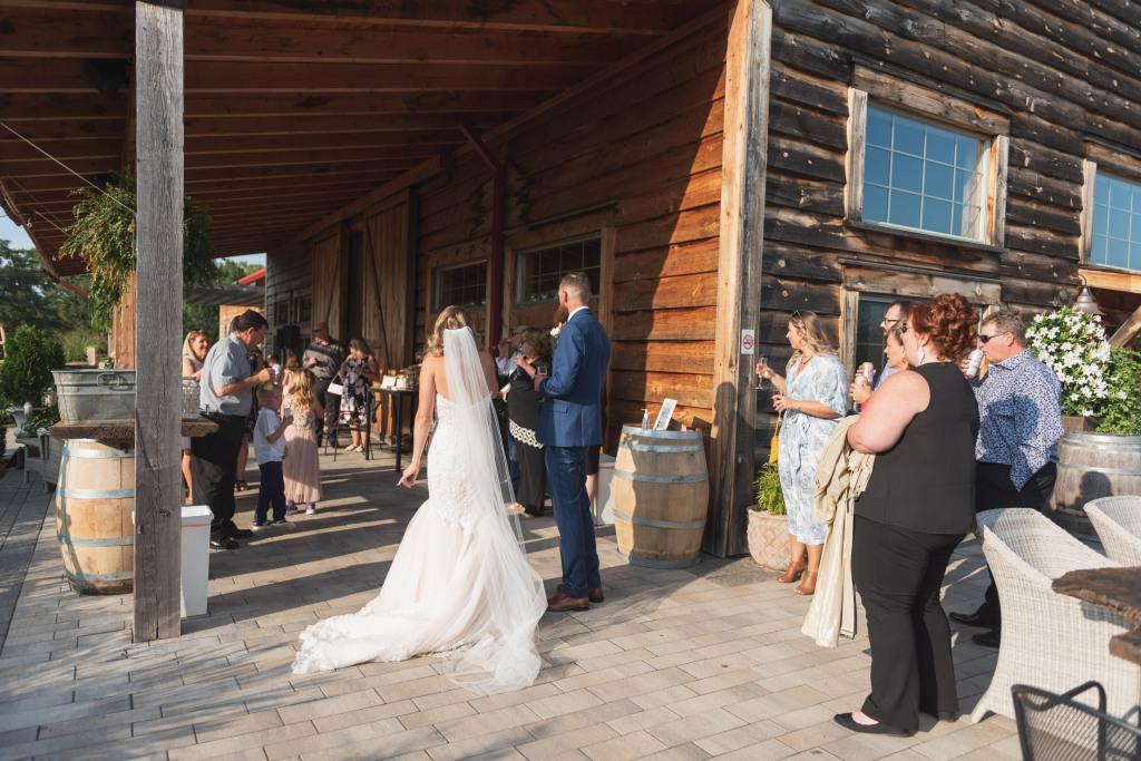 Pop Up Wedding at Stonewall Estate Winery in Niagara