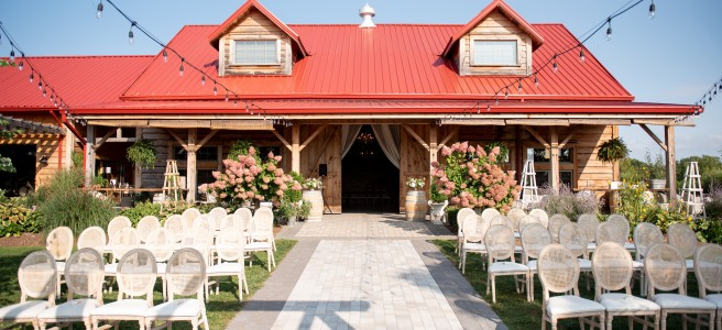 Stonewall Estates Winery Pop up Wedding