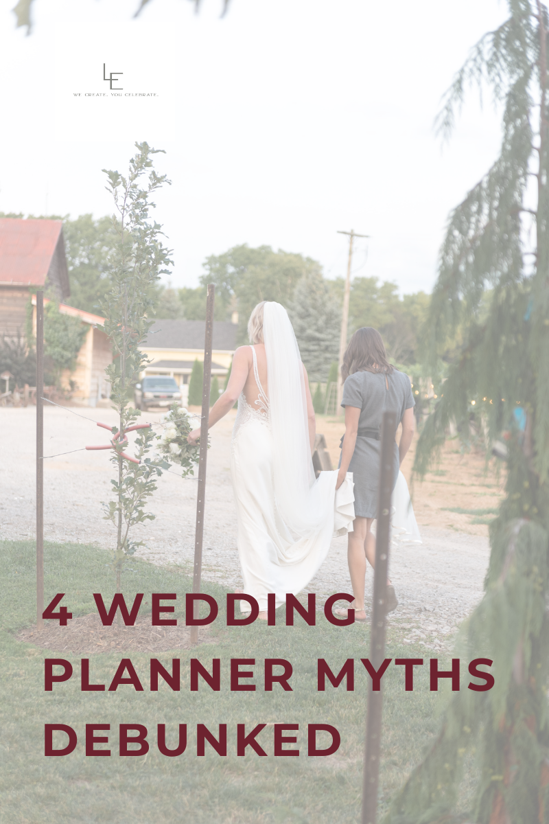 4 Wedding Planner Myths Debunked