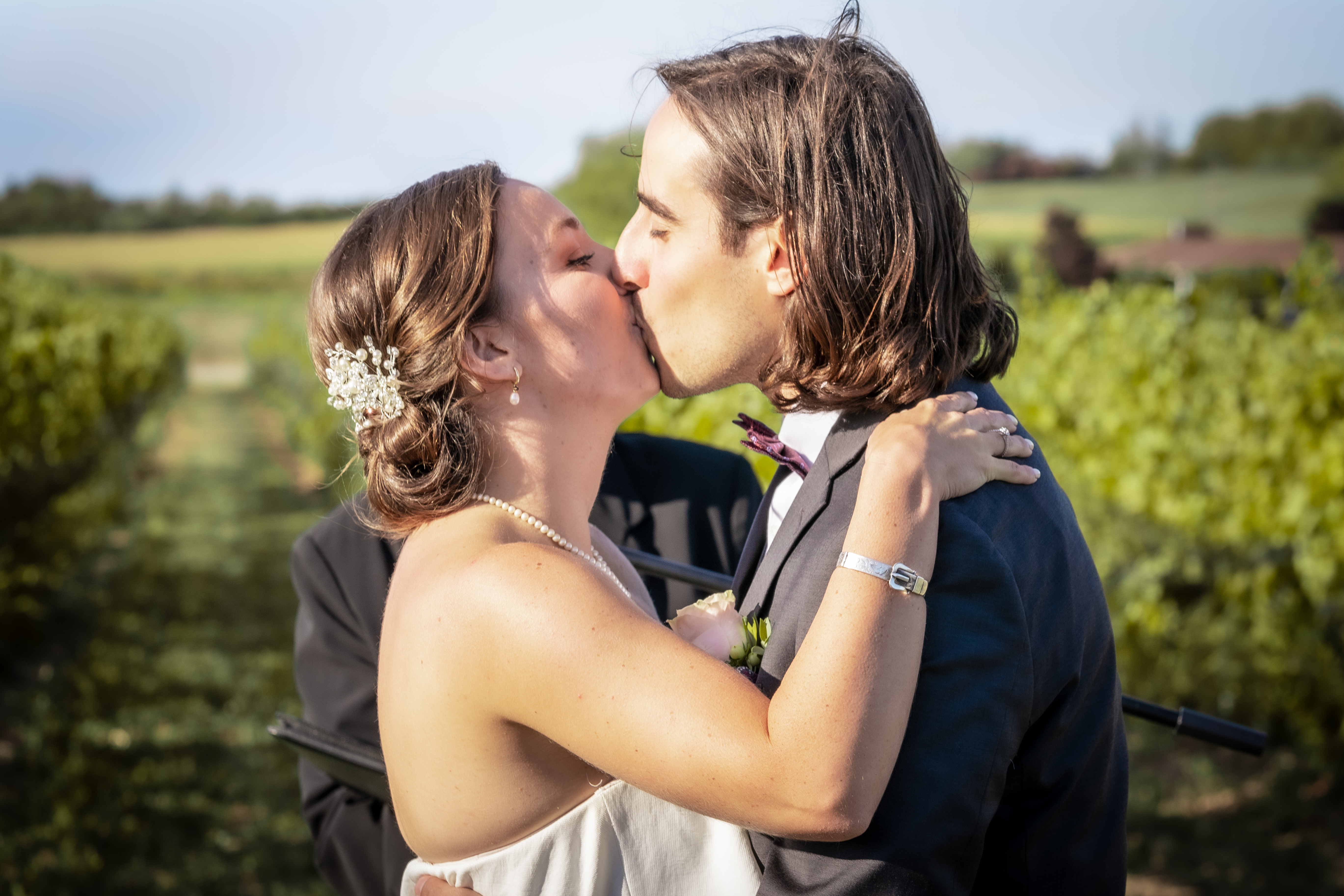 First Kiss at London Born Wine Co